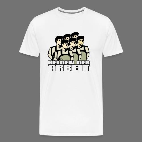 Heroes of työtä - Miesten premium t-paita