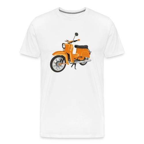 schwalbe in orange - Männer Premium T-Shirt