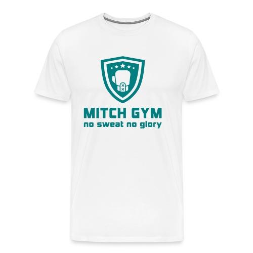 Logo_Mitch_Gym edit - Mannen Premium T-shirt