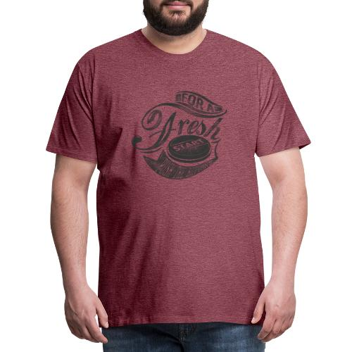 Fresh start - Männer Premium T-Shirt