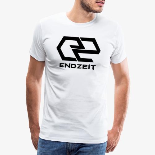 Endzeit Logo Black - Männer Premium T-Shirt
