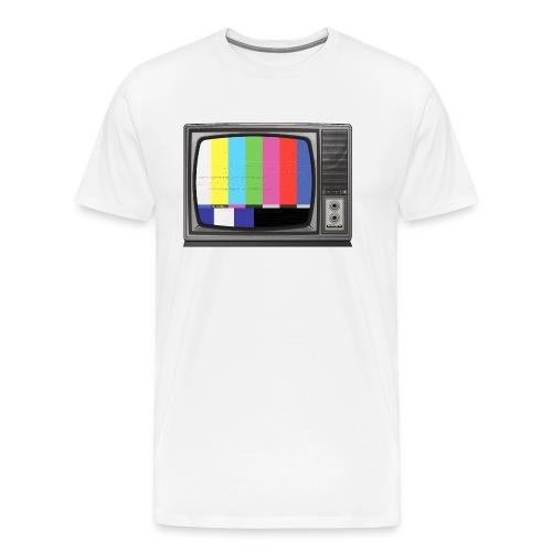 tv signal - T-shirt Premium Homme