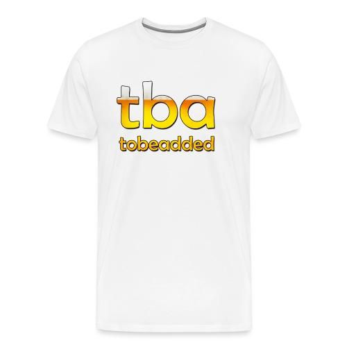 Bier tobeadded - Männer Premium T-Shirt