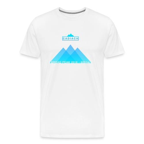 Cadiach Broad Peak 2016 - Mujer - Camiseta premium hombre