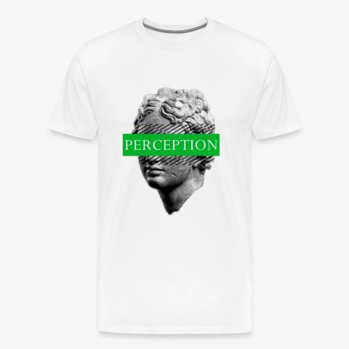 TETE GRECQ GREEN - PERCEPTION CLOTHING - T-shirt Premium Homme
