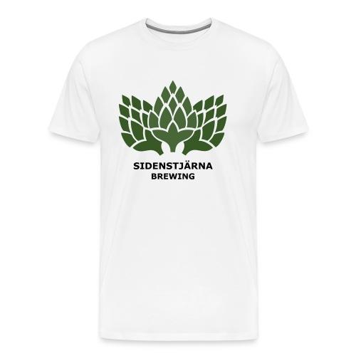 Mörk Logotyp - Premium-T-shirt herr