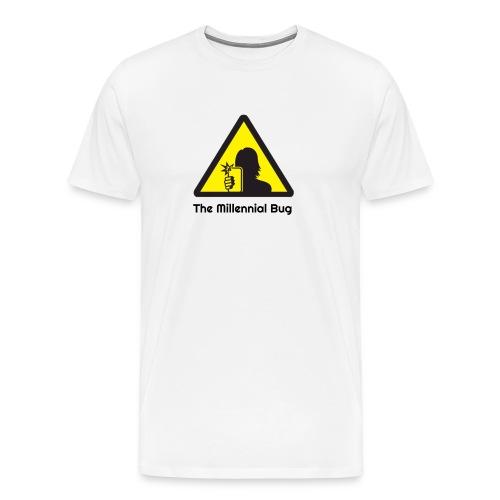 The Millennial Bug - Men's Premium T-Shirt