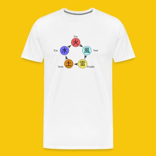 Mug Chakra - T-shirt Premium Homme