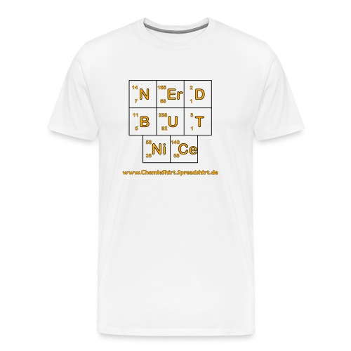 Nerd but nice - Männer Premium T-Shirt
