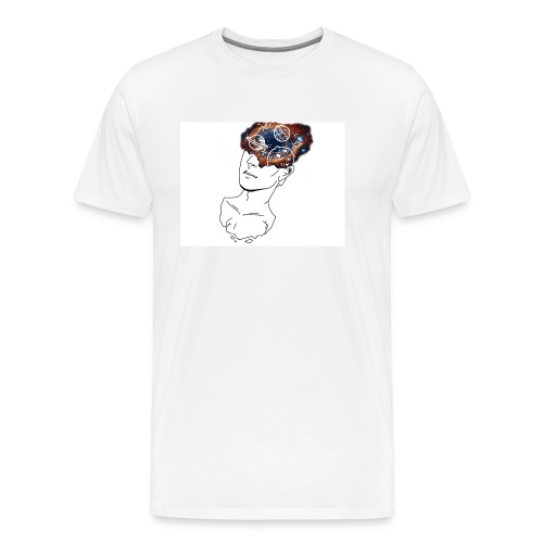 Mind Blown Out Of This World - Men's Premium T-Shirt