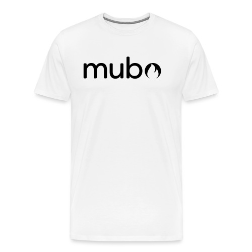 mubo Logo Word Black - Men's Premium T-Shirt