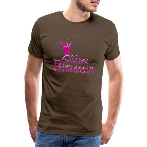Rosa Glitzer Prinzessin - Männer Premium T-Shirt