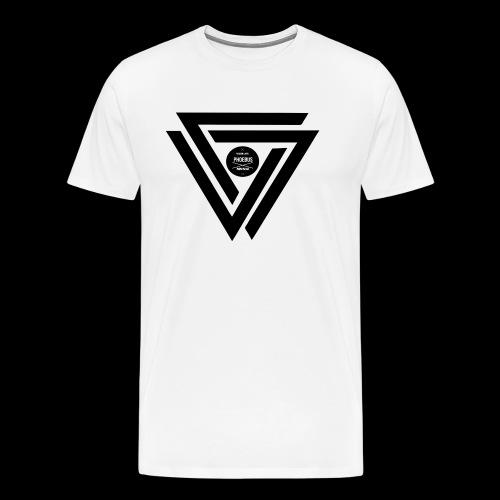 07logo complet black - T-shirt Premium Homme