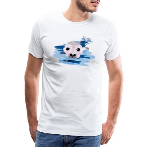 Lieve otter - T-shirt Premium Homme