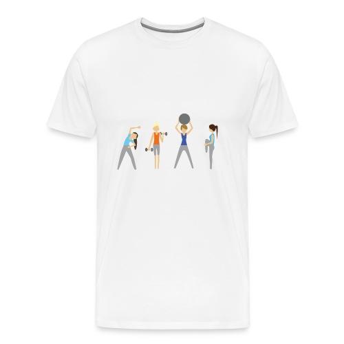 Fitmamuśka - Plecak Czarny - Koszulka męska Premium