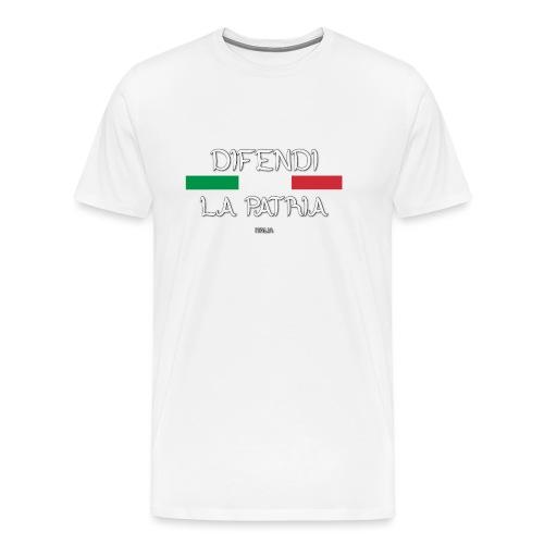 DIFENDI LA PATRIA - Maglietta Premium da uomo