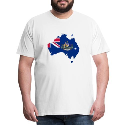 Australien Australia Kontinent Insel Urlaub - Männer Premium T-Shirt