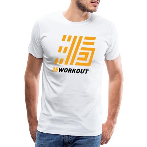 35WORKOUT Brand - Maglietta Premium da uomo