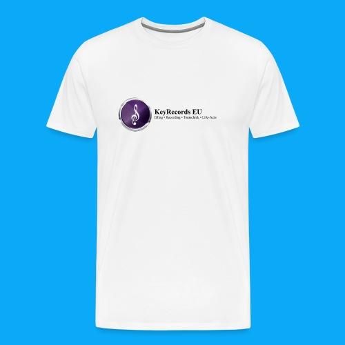 Logo KeyRecords EU - Männer Premium T-Shirt