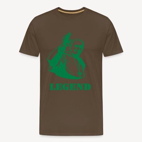 Pope Francis - Legend - Men's Premium T-Shirt