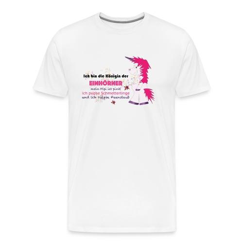 Einhorn 5 - Männer Premium T-Shirt