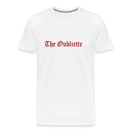 The Oubliette Apron - Men's Premium T-Shirt