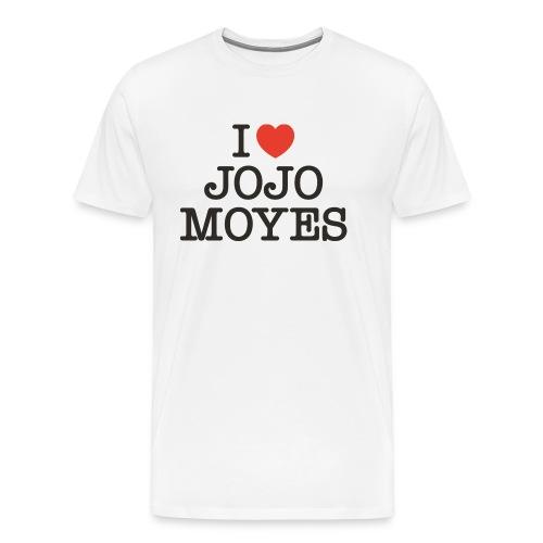 I LOVE JOJO MOYES - Herre premium T-shirt