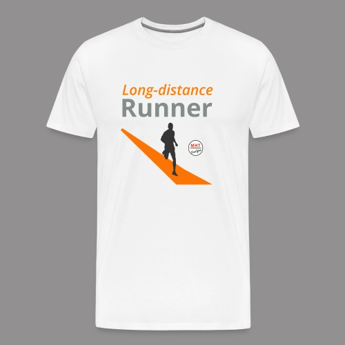 Long distance runner - Mannen Premium T-shirt