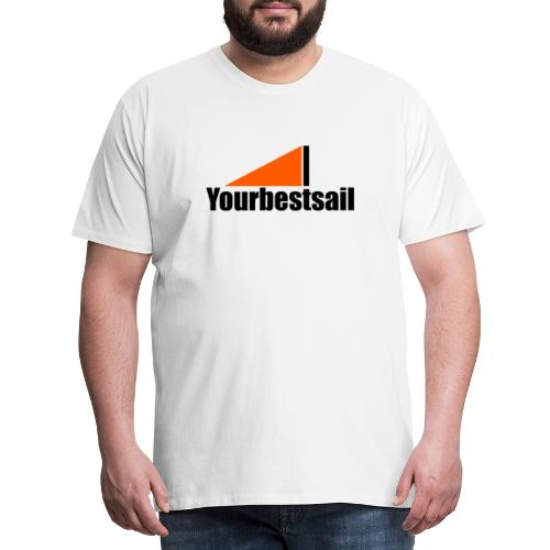 negro naranja ybs - Camiseta premium hombre