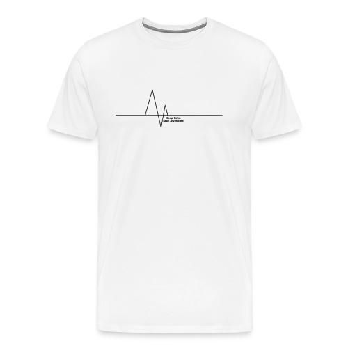 Heartbeat Cover - Men's Premium T-Shirt