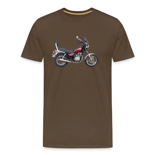snm daelim vc 125 f advace seite rechts ohne - Männer Premium T-Shirt