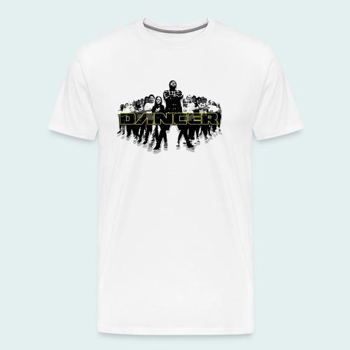 dancer yellow png - Männer Premium T-Shirt
