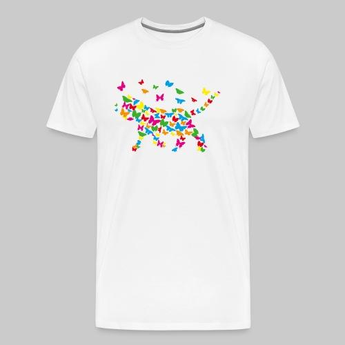 chat-papillon - T-shirt Premium Homme