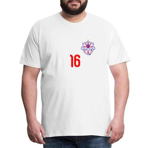 16 England 2014 Pelibol - Männer Premium T-Shirt