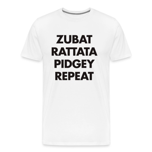 zubatrepeat3 - T-shirt Premium Homme