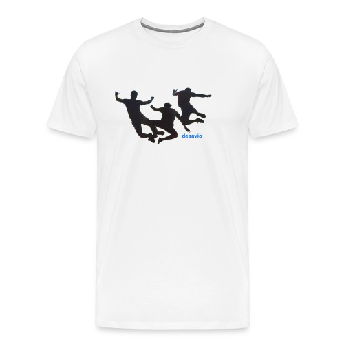 amigos juntos - Camiseta premium hombre