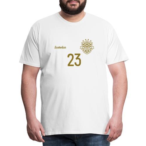 23 Deutschland Trikot GOLD und SILBER Pelibol - Männer Premium T-Shirt