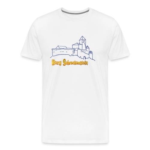 Kinder Kapuzenpullover - Burg Schreckenstein - Männer Premium T-Shirt