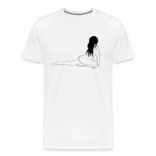 naike - Maglietta Premium da uomo