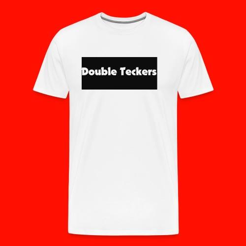 double teckers white top - Men's Premium T-Shirt