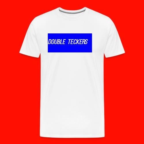 Double Teckers Black top - Men's Premium T-Shirt