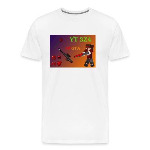 yt 3z4 - Miesten premium t-paita