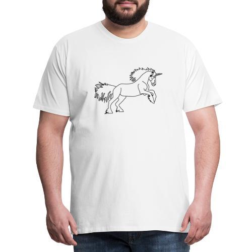 DAS Einhorn - Männer Premium T-Shirt