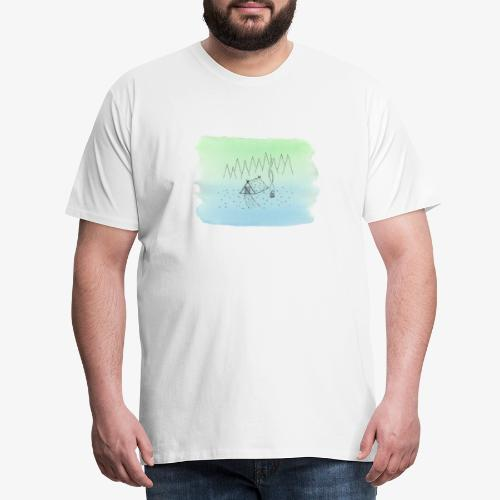 camping sauvage - T-shirt Premium Homme