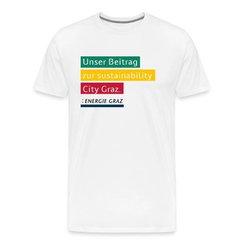 Energie Graz Vision - Männer Premium T-Shirt