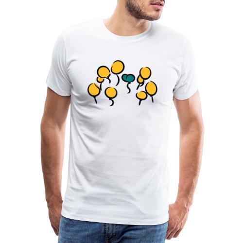 Balloons - Männer Premium T-Shirt