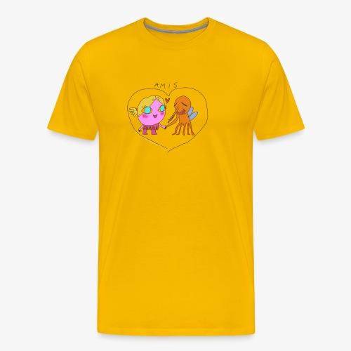les meilleurs amis - T-shirt Premium Homme