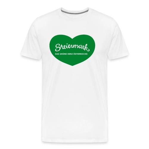 Steiermark das Gruene Herz Oesterreichs - Männer Premium T-Shirt