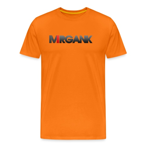 Mrgank Text - Men's Premium T-Shirt