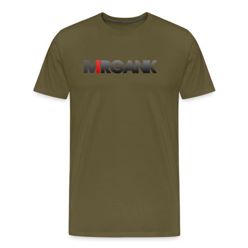 Mrgank Text - Men's Premium T-Shirt